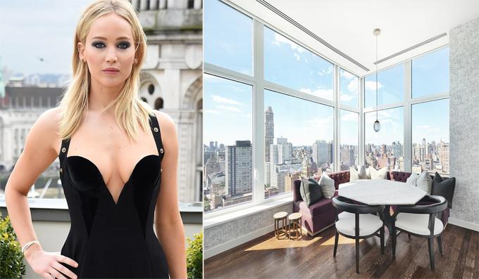 Penthouse gần 400 m2 của Jennifer Lawrence