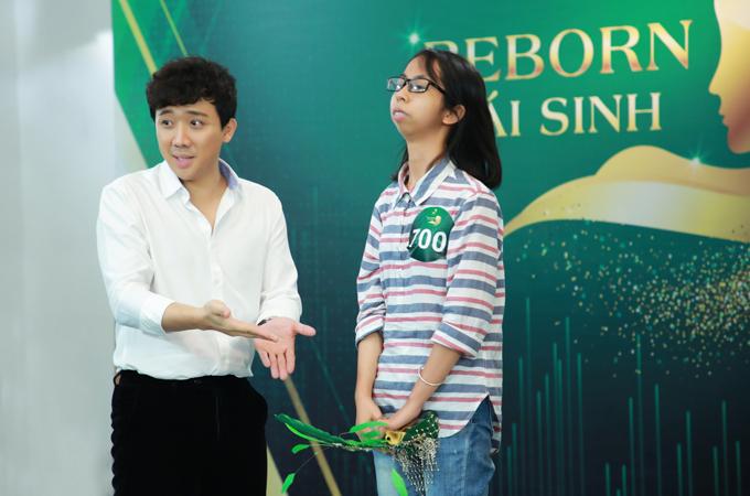 Trấn Thành trao cơ hội thẩm mỹ cho cô gái mặt lưỡi cày