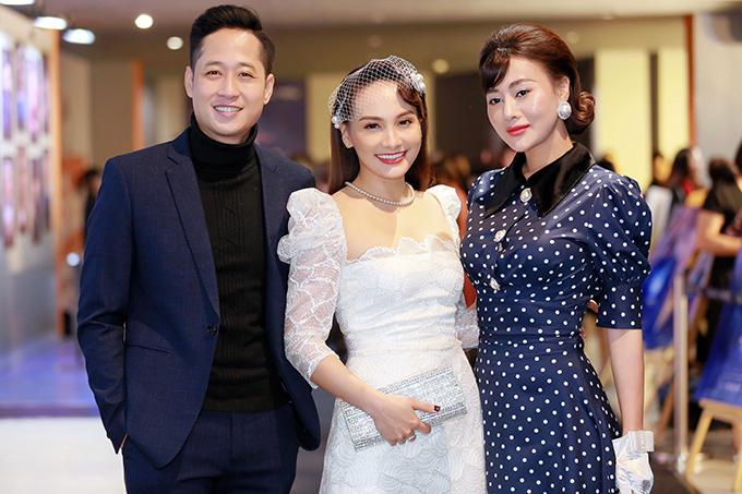 Diễn viên Mạnh Hưng cũng đến ủng hộ Bảo Thanh.