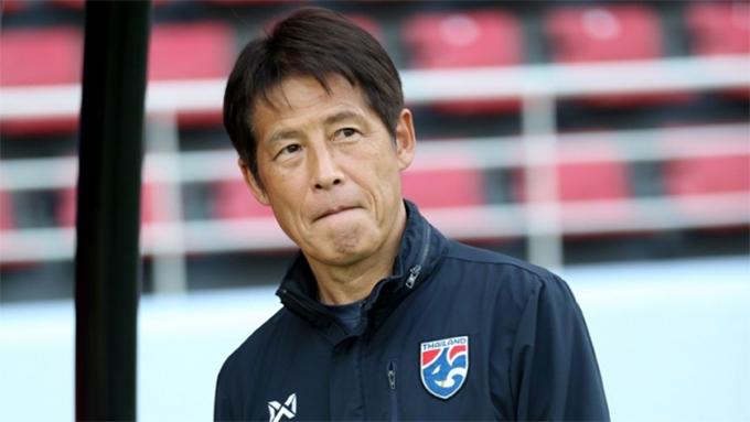 HLV Akira Nishino. Ảnh: Siam Sport.