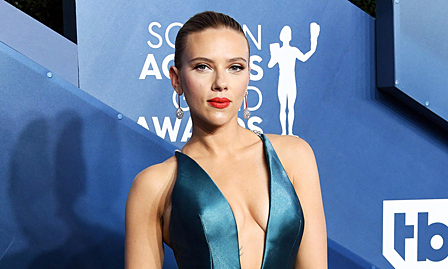 Scarlett Johansson xuất hiện sau cảm nặng
