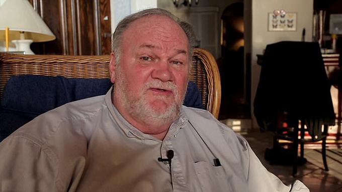 Ông Thomas Markle trong cuộc phỏng vấn với kênh Channel 5 gần đây. Ảnh: Channel 5.