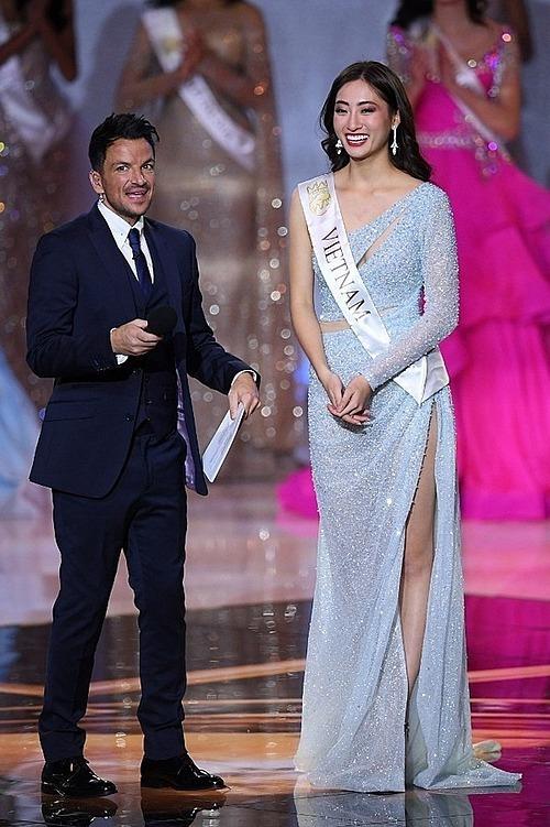 Thùy Linh vào top 12 Miss World 2019.
