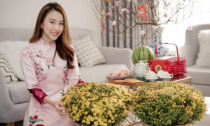 Huỳnh Hồng Loan đón xuân trong căn hộ 3 tỷ đồng