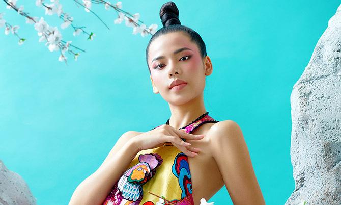Minh Tâm khoe sắc với váy áo của Thủy Nguyễn
