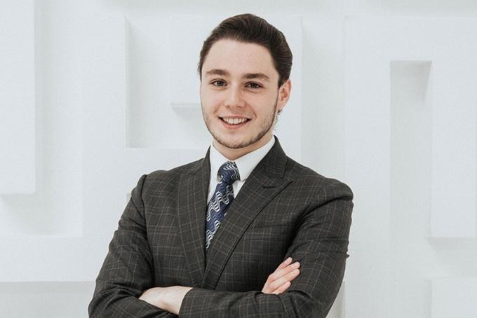 Alexander Fridman, con trai tỷ phú Mikhail Fridman. Ảnh: Bloomberg.