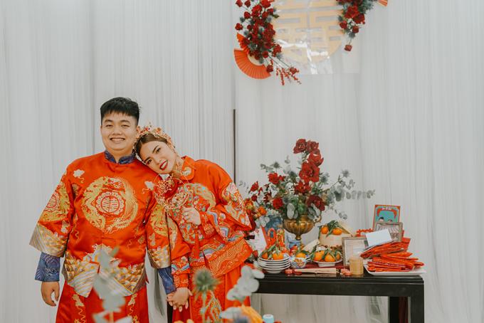 Lễ gia tiên phong cách Trung Hoa