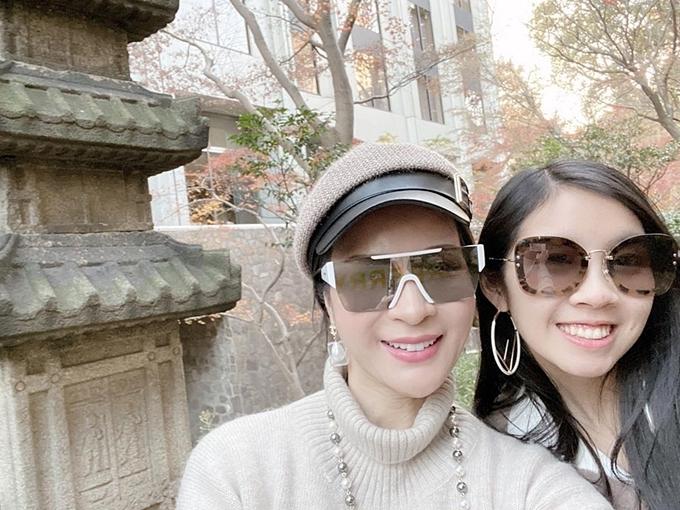 Theo lời kể của Thanh Mai, Alex còn có sở thích đọc sách, mong muốn theo học marketing. Cô ủng hộ quyết định của con gái để có một công việc ổn định trong tương lai.