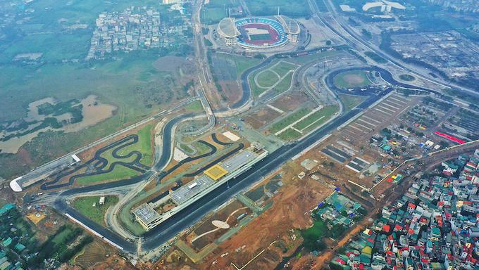 Những điểm nhấn tại trường đua F1 Hà Nội