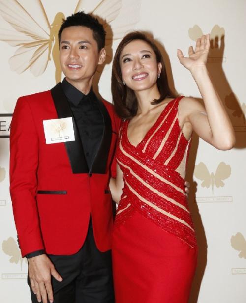Vợ chồng Dương Di - La Trọng Khiêm.