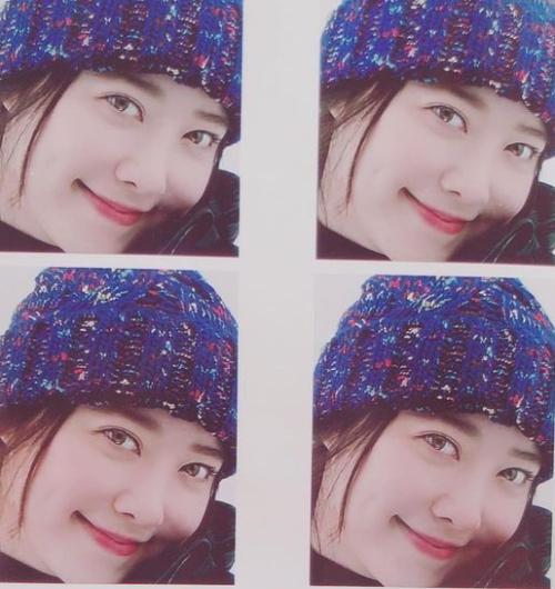 Hình ảnh mới nhất được Goo Hye Sun chia sẻ trên mạng xã hội.
