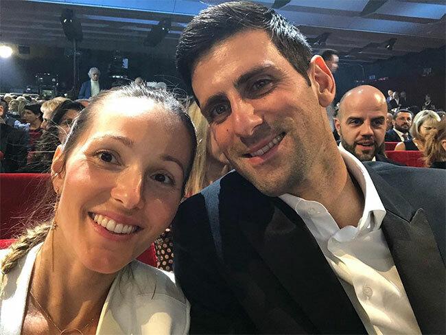 Jelena đăng ảnh cùng chồng dự Đại nhạc hội Sanremo ở Italy vài ngày sau khi chồng