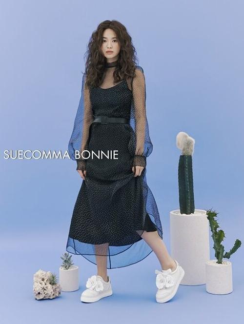 Song Hye Kyo để tóc xù - 7