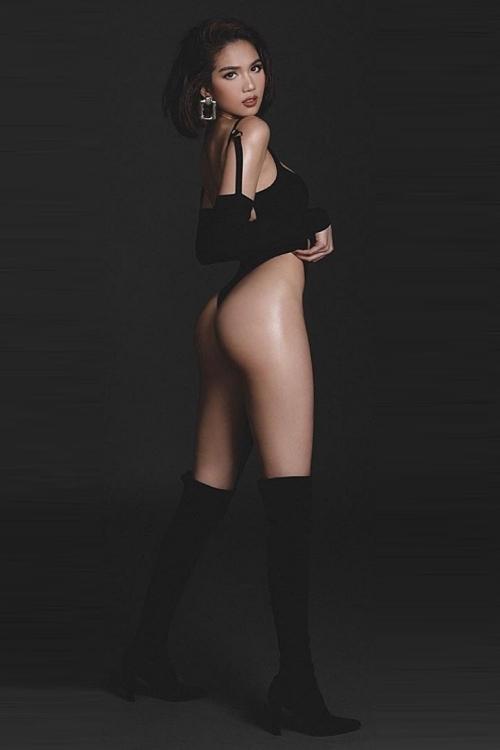 Ngọc Trinh copy Kendall Jenner tạo dáng chụp ảnh - 4