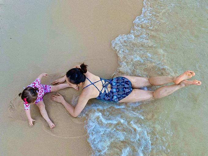 Lan Phương đưa con gái đi Phú Quốc tránhCovid-19 - 5