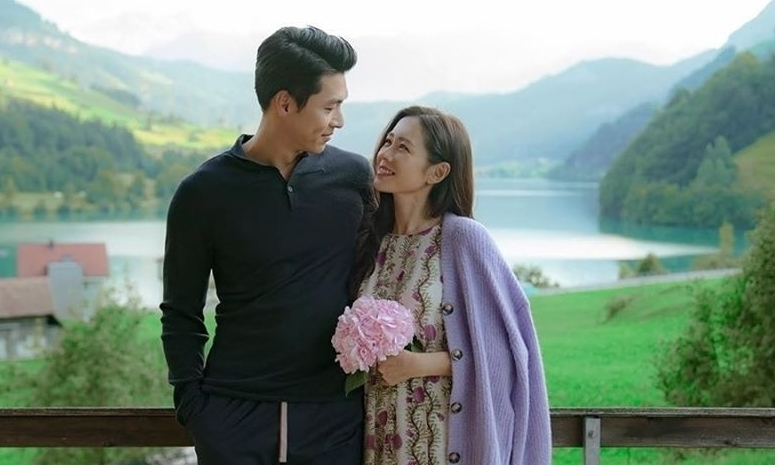 Son Ye Jin - Hyun Bin tình như chụp ảnh cưới