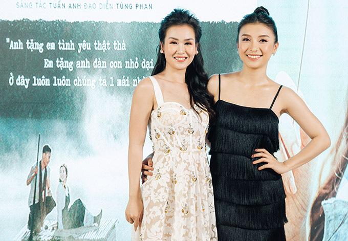Tiêu Châu Như Quỳnh cũng có mặt trong sự kiện của Võ Hạ Trâm.