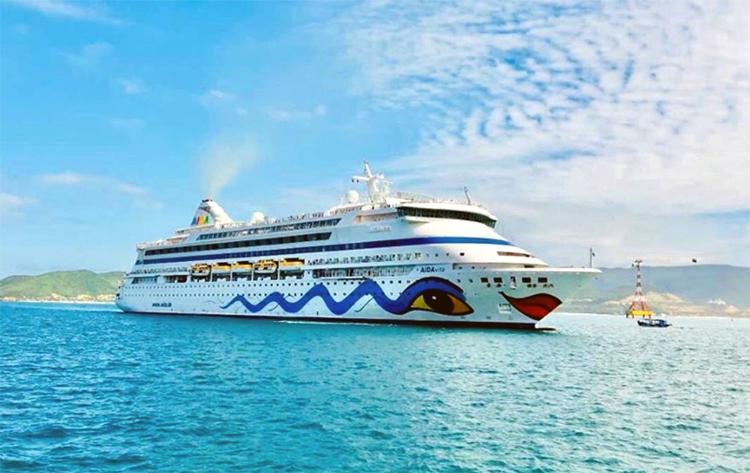 Tàu Aida Vita. Ảnh: VGP