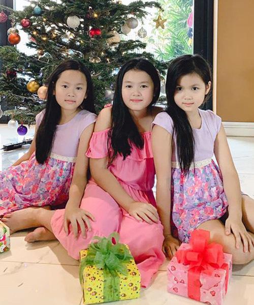 Phương Lê tự hào vì các con đều học giỏi, nói tiếng Anh trôi chảy và luôn ngoan ngoãn, nghe lời cha mẹ.