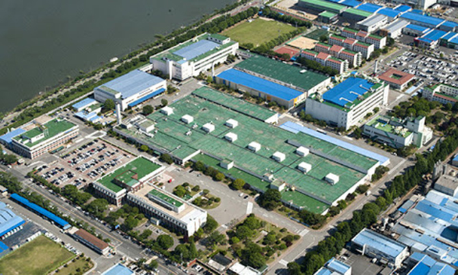 Nhà máy Samsung ở Gumi. Ảnh: Koreanews.