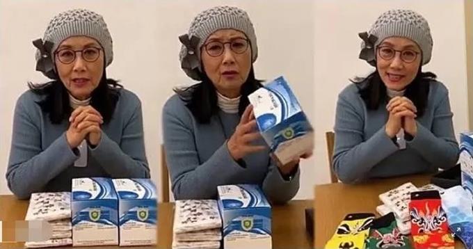Tìm được mối mua khẩu trang tốt, chị cả TVB Uông Minh Thuyên chi hơn 10 nghìn NDT (hơn 1,4 nghìn USD) mua 2000 chiếc khẩu trang tặng cho người già trên 70 tuổi.
