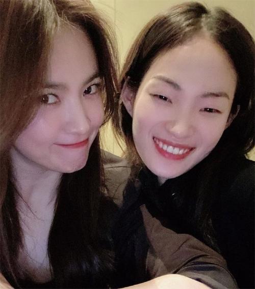 Song Hye Kyo và siêu mẫu Jung So Hyun