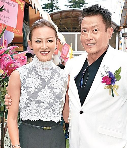 Ngụy Tuấn Kiệt và vợ cũ, Trương Lợi Hoa.