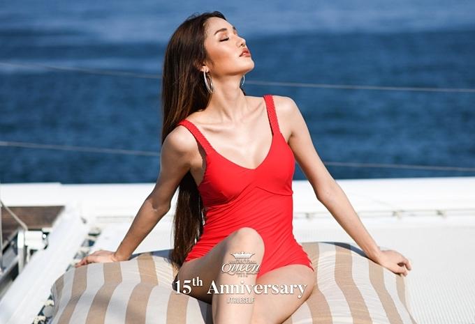 Các nhan sắc chủ nhà Thái Lan luôn được đánh giá cao và Dear Ritai Pryasiyong- thí sinh năm nay - cũng không ngoại lệ. Cô 28 tuổi, cao 1,74 m và có sự thể hiện nổi bật từ ngày nhập cuộc.