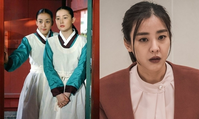 Park Eun Hye trong phim Nàng Dae Jang Geum và phim Hi Bye, Mama.