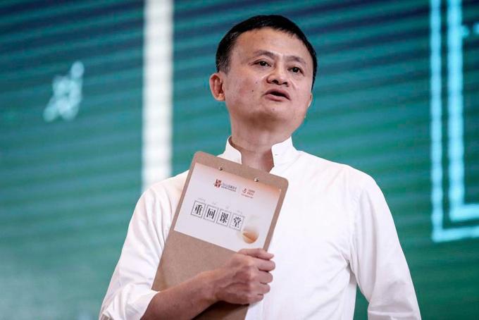 Tỷ phú Jack Ma. Ảnh: CNN.