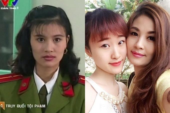 Diễn viên Hoa Thúy sinh năm 1976, nổi tiếng qua loạt phim Cảnh sát hình sự. Năm 18 tuổi, chị kết hôn với người chồng cũ và sinh con gái đầu lòng tên Thiên Nga. Con gái nữ diễn viên xinh xắn ở tuổi trưởng thành, giúp chăm sóc hai em trai mỗi lúc mẹvắng nhà. Ngoài công việc đóng phim truyền hình và đóng kịch tại nhà hát Tuổi Trẻ, Hoa Thúy còn điều hành một công ty phân phối máy lọc nước của Mỹ tại Việt Nam.