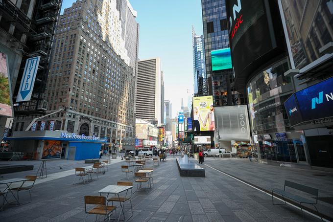 New York vắng vẻ đến điên rồ vì Covid-19 - 5