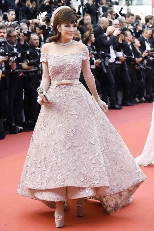 Lý Nhã Kỳ từng nhiều lần dự LHP Cannes.