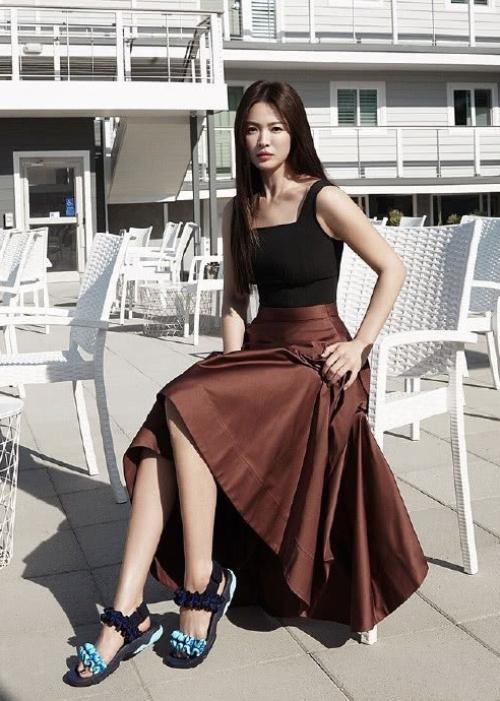 Song Hye Kyosau 20 năm đóng Trái tim mùa thu - 11