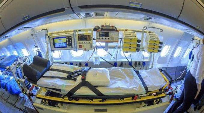 Bên trong bệnh viện bay chữa cho bệnh nhân Covid-19 - 6