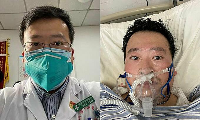 Bác sĩ Lý Văn Lượng - một trong những người cảnh báo sớm về nCoV trước khi mất. Ảnh: Weibo.