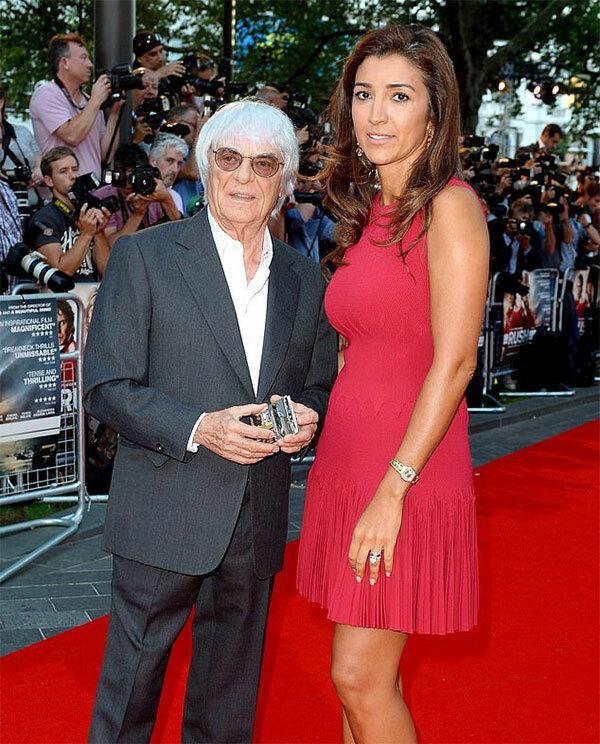 Tỷ phú Bernie Ecclestone và người vợ thứ ba kém 46 tuổi Fabiana Flosi
