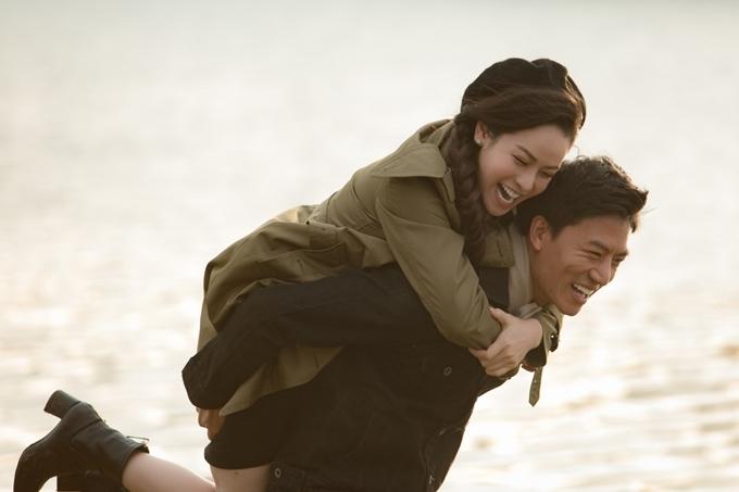 Nhật Kim Anh và Hiếu Nguyễn đóng vai người yêu.
