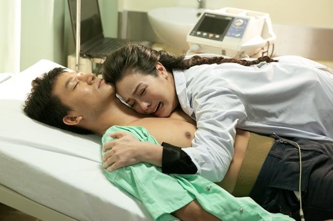 Nhật Kim Anh thể hiện nỗi đau mất người yêu.