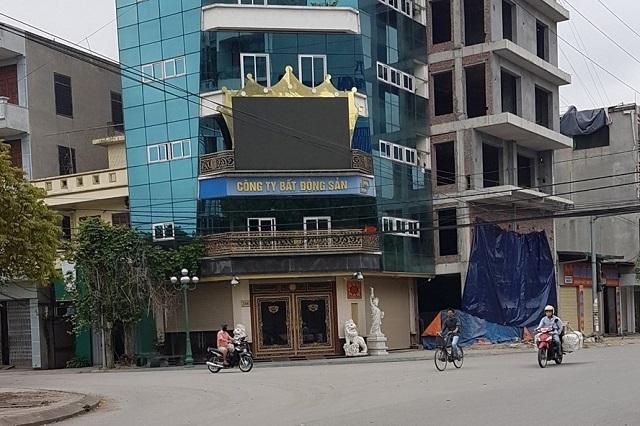Trụ sở của công ty Đường Dương. Ảnh Việt Dũng.