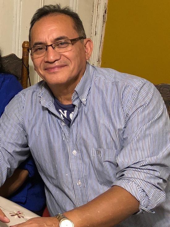 Ông Luis Arellano, bệnh nhân Covid-19 qua đời hôm 5/4. Ảnh: NYT.