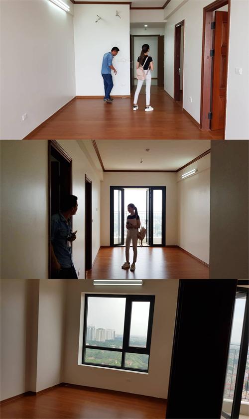 Căn hộ ban đầu gồm có 2 phòng ngủ, 2 nhà vệ sinh, phòng khách và bếp. Chi phí cải tạo căn hộ là 170 triệu đồng không bao gồm các thiết bị bếp, đồ điện tử.