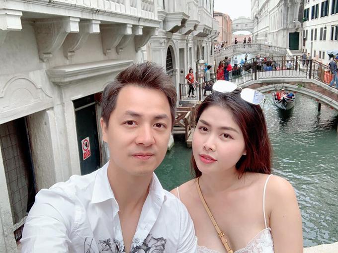 Vợ chồng Thủy Anh - Đăng Khôi có nhiều dự định du lịch sau dịch.