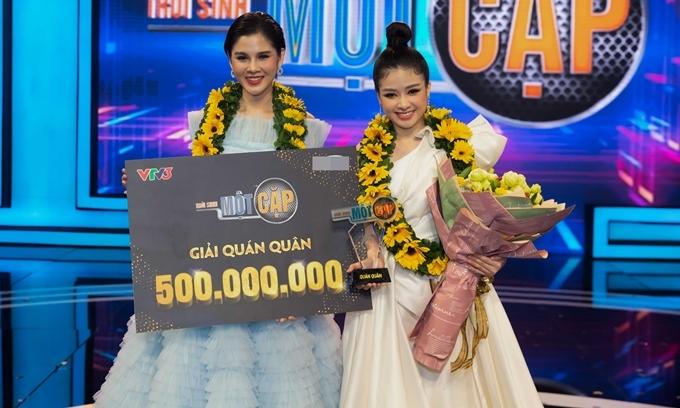 Thu Hoài - Dương Hoàng Yến thắng giải quán quân.