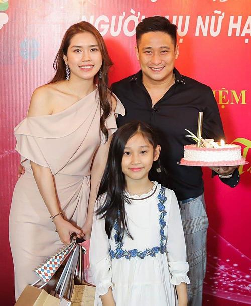 Gia đình Minh Tiệp trong sinh nhật năm ngoái của Thùy Dương.