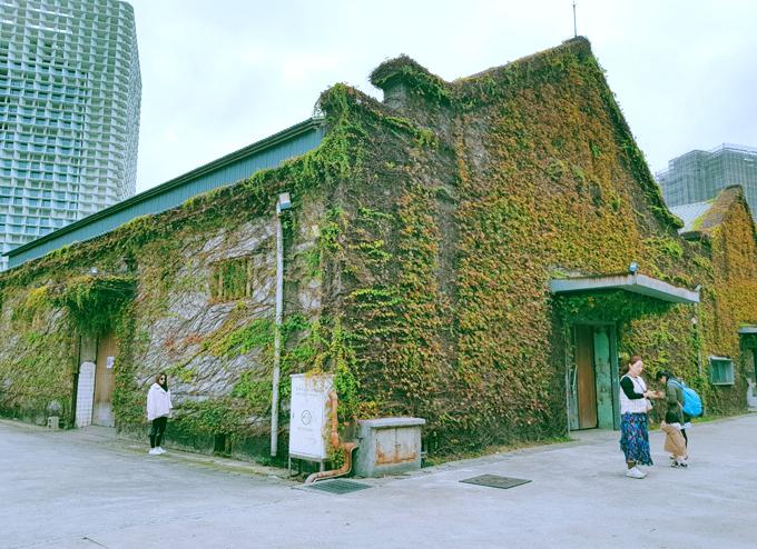 Công viên nghệ thuật hơn trăm tuổi ở Đài Loan