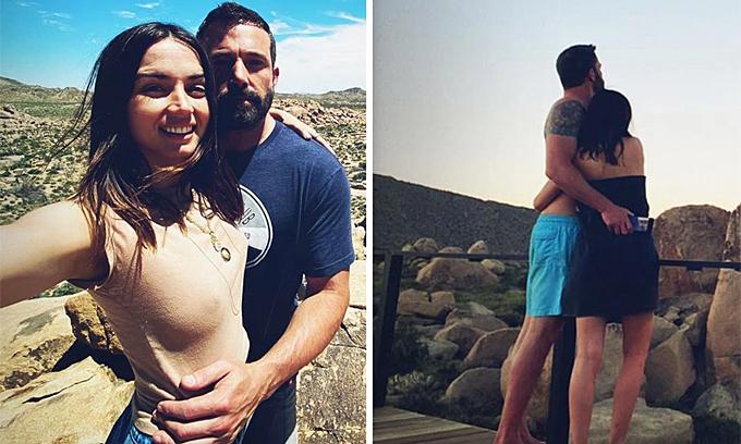 Ben Affleck và bồ trẻ công khai tình cảm trên Instagram
