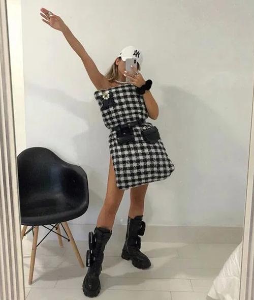 Đủ cách biến tấu mốt mặc gối của fashionista thế giới - 10