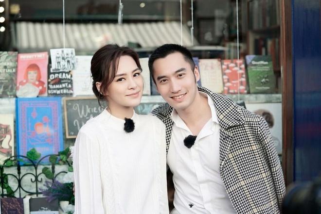 Chung Hân Đồng và chồng khi còn chung sống mặn nồng.