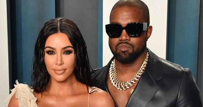 Kim và Kanye xung đột chuyện trông con thời dịch. Ảnh: Rex.